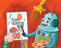 Artist Robot- Nalan Aktaş Sönmez  - ErNa Yayınları