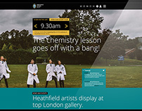 Heathfield School website
