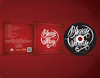Lettering Cover CD Braian Willian