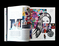 Baku Magazine x Mary Katrantzou Editorial