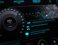 Car dashboard UI