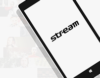 Stream.cz app for Windows Phone 8.1
