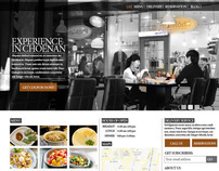 Cheonan Restaurants website