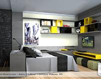 Dormitório S.B.R.