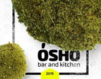 Osho bar & kitchen. Logo & branding