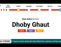 How The SMRT In-Train Screen Should Look – Mograph, UX