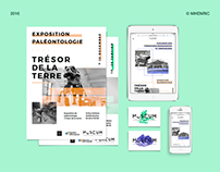 Natural history museum of Nantes - Brand identity