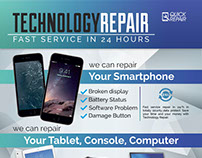 Technology Repair Flyer/Poster
