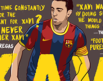 Xavi Hernandez for Bleacher Report