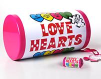 Love Hearts Jigsaw // Packaging