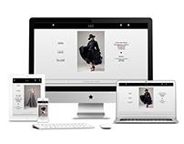 Promo site for Elena Gee