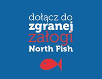 North Fish employer branding poster