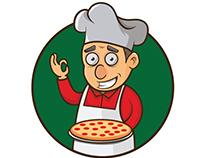 Personaje para Pizza Italiana
