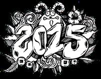 Calendar 2015 GraffStyle