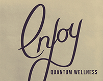 Enjoy Quantum Wellness Logo Design