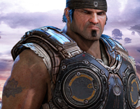 Hyped Magazine - Gears of War 3 animated cover
