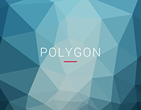 Clean Polygon Backgrounds