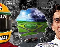 Ayrton Senna 20 year Tribute