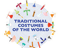 Traditional Costumes of the World -Symbol Design