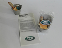 'Washing your Land Rover' promotional package