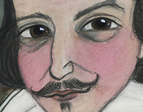 Much Ado about Shakespeare, Writers Portrait