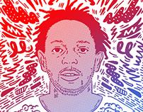 Kendrick Lamar Portrait