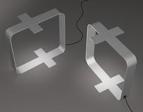 Crucifix Lamp