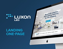 Luxon OEM - landing long page