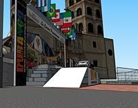 Diseño de Escenario | La Carrera Panamericana