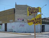 Orgullo Chalaco / serigrafía ambulante