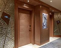 Raffles Istanbul Hotel, Zorlu Center Wayfinding