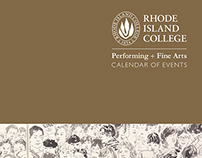 Rhode Island College Performing + Fine Arts Calendar