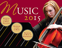 Rhode Island College Music Program poster
