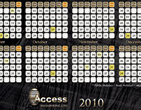 Access Engineering Calendar 2010