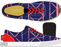 BucketFeet Celebration Shoe Mockup