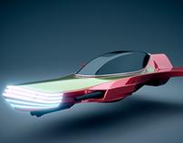 3D Nave de combate urbana