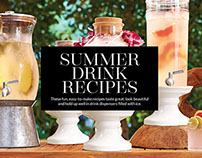 Pottery Barn Summer Drink Recipes Online