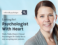 Walla Walla Clinic Physician Campaign