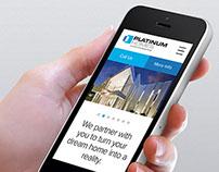 Platinum Homes Website