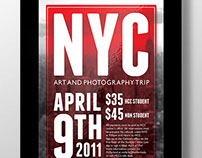NYC Art and Photography Trip Poster