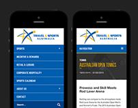 Travel & Sports Website
