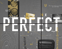 The Perfect Year - Typographic Calendar