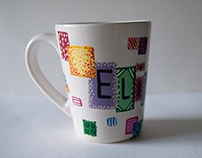 Custom decorated cup