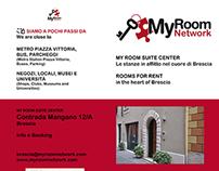 Leaflet for MyRoom Brescia