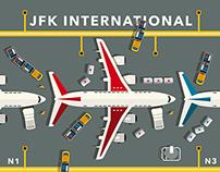 JFK airport / The Good Life magazine