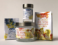 Aquarium Fish Food Packaging