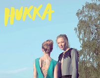 Hukka Clothing Flyer 2014