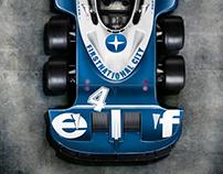 6 Wheel Formula 1 car