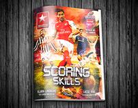 Scoring Skills - Magazine design