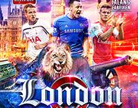 London football - Magazine Design